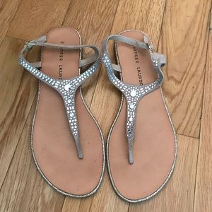 Chinese Laundry bedazzled sandals